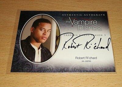 The Vampire Diaries Season 3: Robert Ri' chard as 'Jamie' Autograph Card A21
