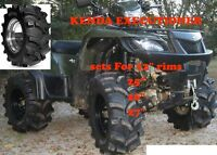 "Kenda Executioner 25 "" $403.54 Set of 4  ATV TIRE RACK Canada On"