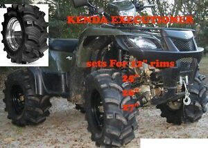 "Kenda Executioner 25 "" TIRES -- ATV TIRE RACK"