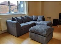 BRAND NEW DYLAN CORNER SOFA OR 3+2+ARMCHAIR - IN STOCK