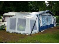 Awning and annexes
