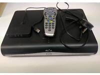 Sky+ HD Box with Sky wireless connector mini