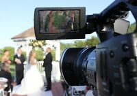Wedding video services. $900.00