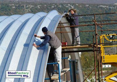 Steel 42x120x20 Quonset Barn Farm Hay Grain Storage Livestock Horse Building Kit
