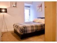 2 bedroom main door with private garden