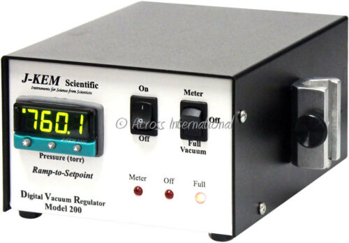 JKEM J-KEM DVR-200 Digital Vacuum Regulator Controller Rotary Evaporator 120V