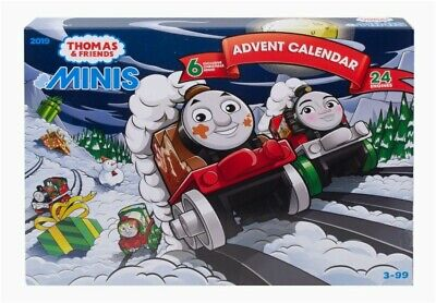 THOMAS & FRIENDS MINIS 2019 ADVENT CALENDAR. 6 HOLIDAY TRAINS. 24 ENGINES!