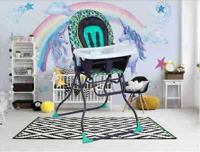 High Chair for Baby and Toddlers Portable Durable Washable Kid Boy Girl Swing