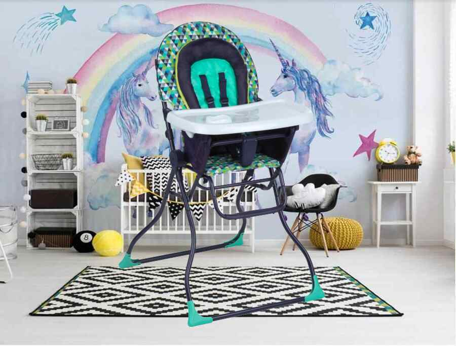 High Chair for Baby and Toddlers Portable Durable Washable K