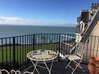 Beautiful flat over looking the Sea