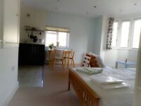 cOOL studio apartment, 19 mins to Central London by train and walking distance to Kingston