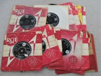 FOR SALE. ELVIS SINGLES. ALL BLACK AND SILVER FROM THE 1950'S/1960'S. NO REASONABLE OFFER REFUSED.