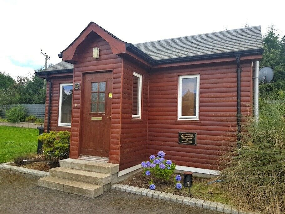 1 bedroom rural log chalet to rent in outskirts of