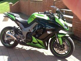 Kawasaki z1000 sx hcf abs