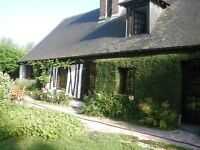 Detached converted farmhouse in Normandy (France)