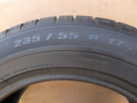 tires tyres 235/55/17 pirelli and michellin x3