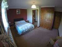 Spacious Ensuite room. Superb views in the Ribble Valley. Secure parking