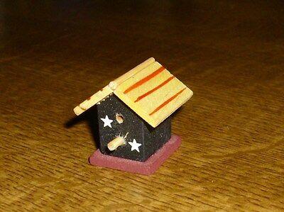 hübsches kleines Vogelhaus - Miniatur 1:12