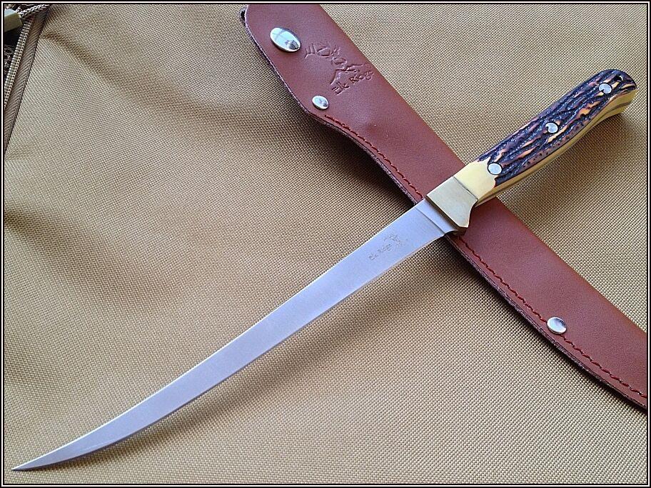Elk Ridge 12 Inch Overall Fillet Knife Full Tang 440