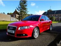 AUDI A4 2.0 TURBO S LINE SE ONE OWNER FULL SERVICE HISTORY.. a3 330 golf gti passat r32 a5 astra