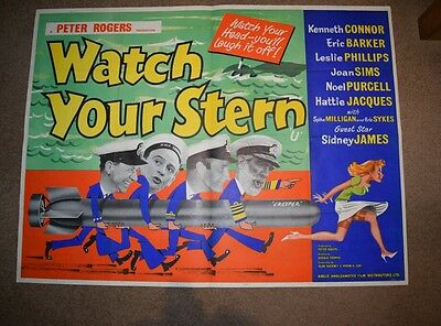 Watch your Stern UK Quad 1960 (Carry on style)