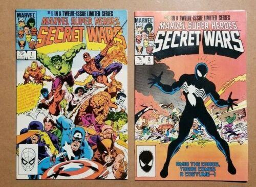 Marvel Super Heroes Secret Wars (1984) 1-12 Complete Set Marvel Comic Books