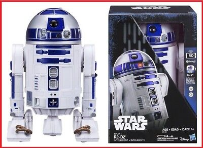 Used, Star Wars Smart R2-D2 Intelligent Droid Interactive Bluetooth Robot Vehicle for sale  Shipping to Canada