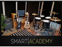 SMART STUDIO - Acoustic/Electric Guitar/Bass Guitar/Keyboard/Drum Lessons - First Lesson Free