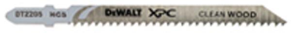3 Stück DeWalt Stichsägeblätter DT2221, passend für Bosch  T127DF, Alu 100 mm