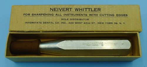 Vintage Neivert Whittler Instrument Sharpener Dental cutting edges
