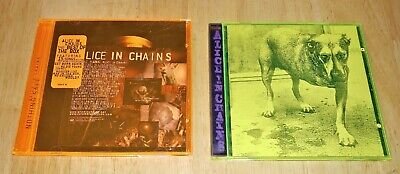 LOT OF 2 ALICE IN CHAINS CDs - ALICE IN CHAINS THE BEST OF THE