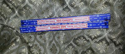 Famous Satya Nag Champa Incense Sticks 20 Grams Free Shipping Two Boxes