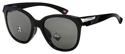 Oakley Low Key Womens Sunglasses OO9433-0154 Polished Black | Prizm Grey Lens