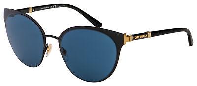 Tory Burch Sunglasses TY 6058 307980 55 Black   Blue (Tory Burch Sunglass)