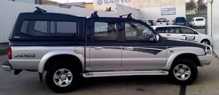 2004 Diesel Mazda B2600 bravo plus duel cab ute. Blackstone Heights Meander Valley Preview