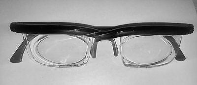 Adlens Brille Lesebrille Dioptrien -6 bis +3 Gleitsichtbrille Einstellbar 18g
