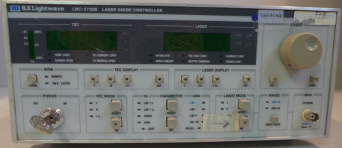 ILX Lightwave LDC-3722B Laser Diode Controller Tested and Working with key