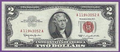 2 00 United States Note   1963   Granahan Dillon   A11943052a