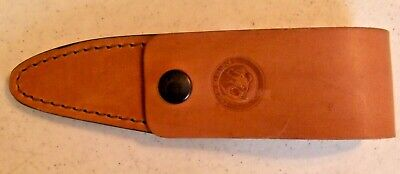 NEW KNIVES OF ALASKA LEATHER KNIFE SHEATH FOR CUB BEAR FREE S&H Alaska Cub Bear Knife