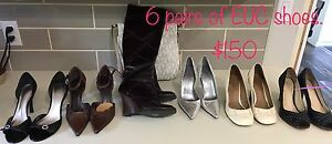 Women's shoes/boots 6 pairs total