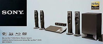 Sony BDV-N7200W Heimkinosystem,1200W,3D-fähig, WLAN, NFC, Bluetooth(B5653)