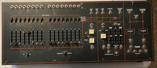 """ARP 1621 SEQUENCER """" - TWIN BUS MOD"""" - One of a Kind -  Serial Number 86"""