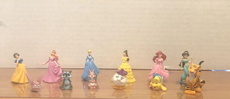 Disney princess cake topper set 12 Pieces