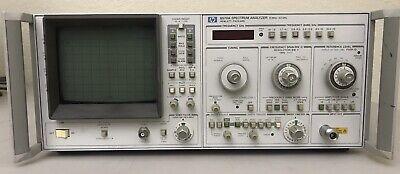 Hp 8570a Microwave Spectrum Analyzer 10 Mhz To 22 Ghz