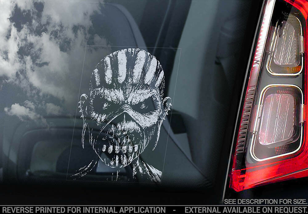 High Detail Iron Maiden Killers Album EDDIE Vinyl Decal Sticker Car Truck Window