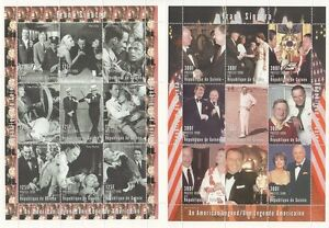 PAIR-OF-FRANK-SINATRA-HOLLYWOOD-LEGEND-MNH-STAMP-SHEETLETS