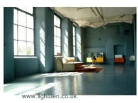 Lightden photography studio for hire urban industrial factory mill