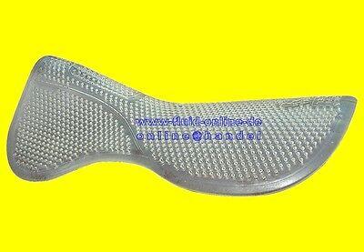 PFIFF 100011-40-Full Active-Soft-Gel-Pad Pferde Sattelunterlage transparent/weiß