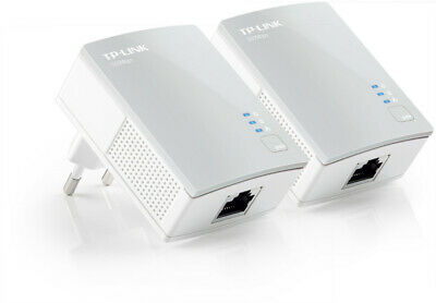 TP-Link TL-PA4010KIT AV600 Powerline Adaptador Conjunto Enchufe & Jugar