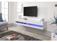 GALICIA WHITE 150CM WALL TV UNIT